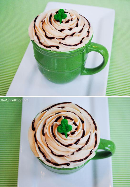 'Irish Coffee' Cupcake Recipe | TheCakeBlog.com