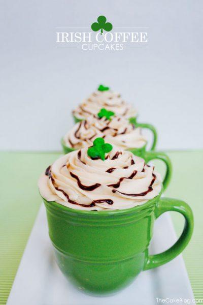 Recipe: 'Irish Coffee' Cupcakes