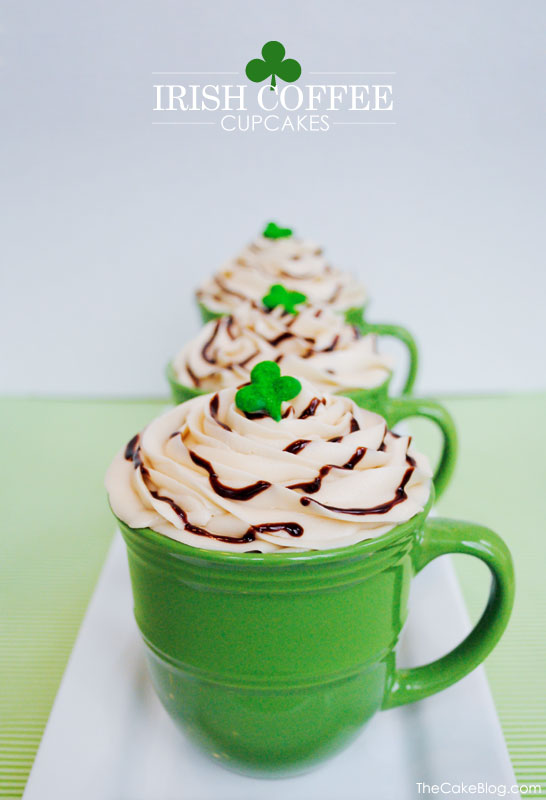 Recipe: 'Irish Coffee' Cupcakes