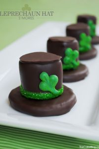 DIY: Leprechaun Hat S'mores