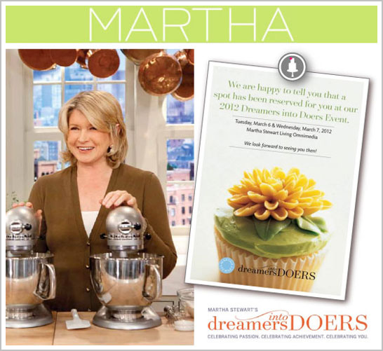 Martha Stewart Dreamers Event 2012