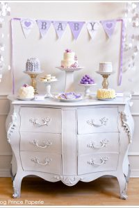 Lavender Baby Love Sprinkle Shower