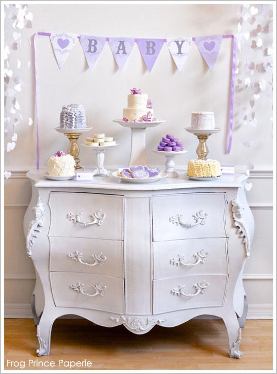 Lavender Baby Love Sprinkle Shower
