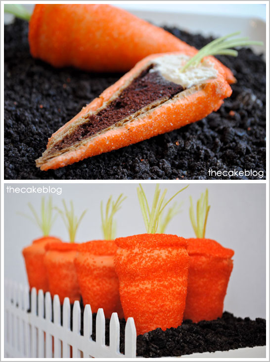 Surprise Carrot Cupcakes by Carrie Sellman