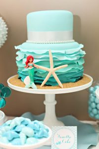 Ruffle Mermaid Cake