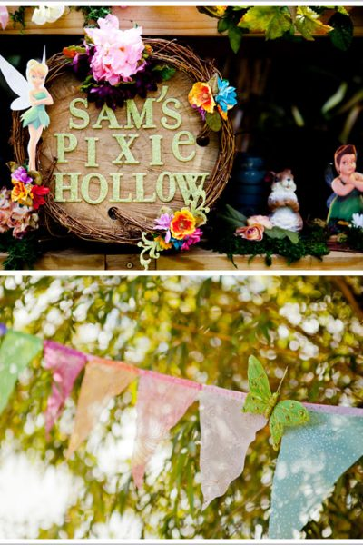 Pixie Hollow Birthday Party