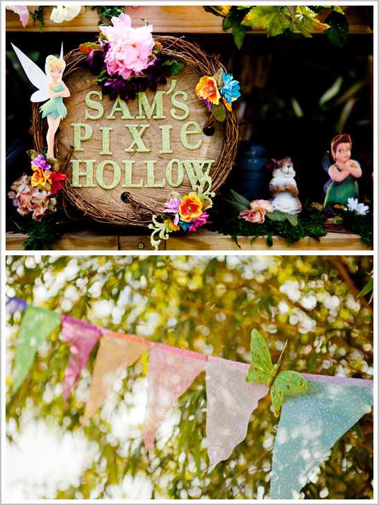 Fairy Birthday Party in Pixie Hollow
