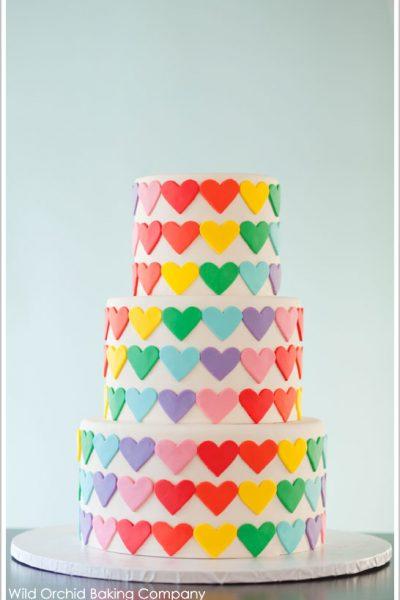 I ♥ Rainbows Cake