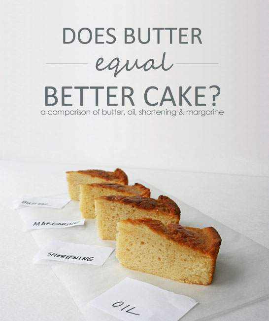 Which fat makes the best cake? | Baking Science with Summer Stone for TheCakeBlog.com