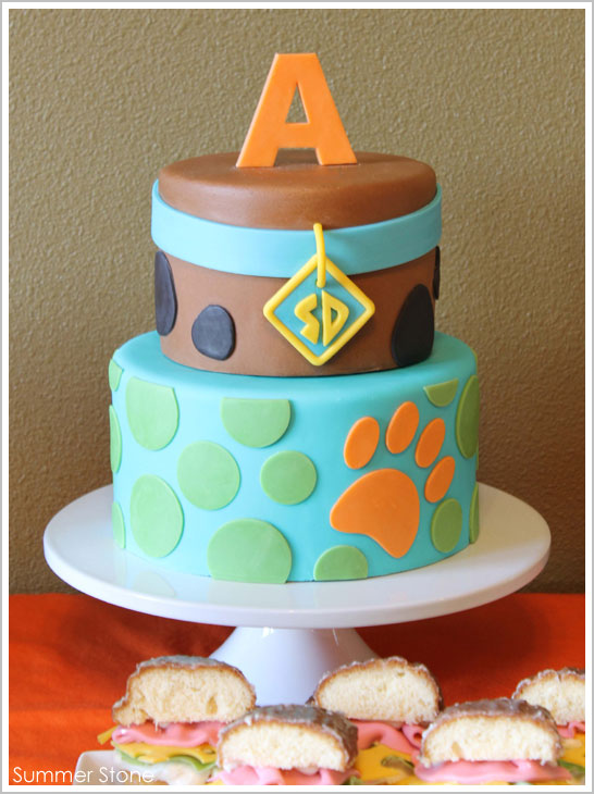 Scooby Doo Birthday Cake