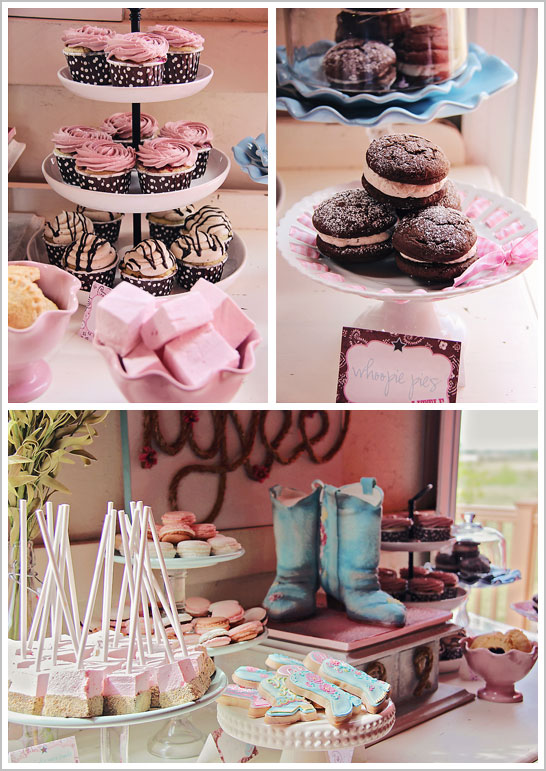 Phenomenal Vintage Cowgirl Birthday The Cake Blog Personalised Birthday Cards Bromeletsinfo