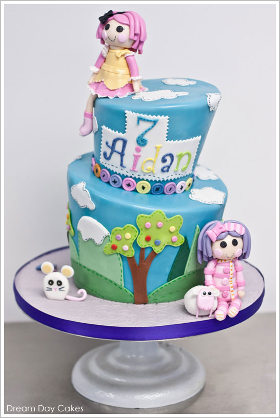 Swell Lalaloopsy Birthday Cake The Cake Blog Personalised Birthday Cards Rectzonderlifede