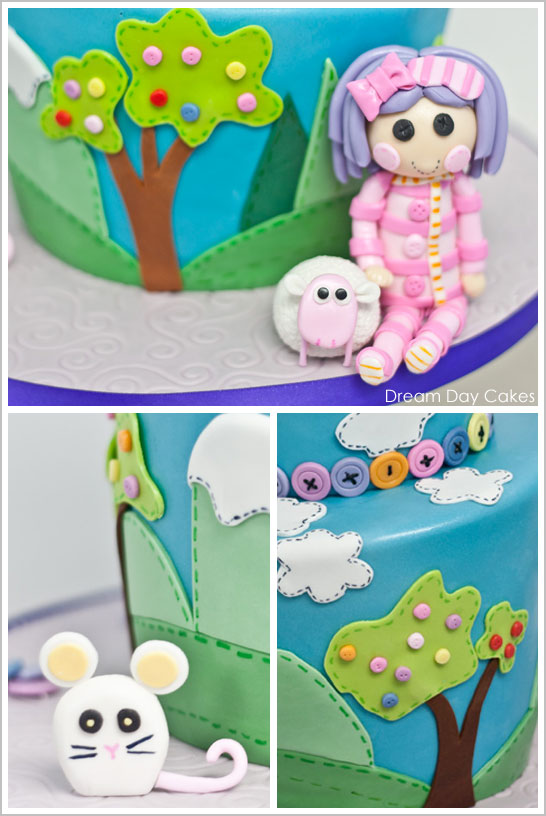 Excellent Lalaloopsy Birthday Cake The Cake Blog Personalised Birthday Cards Rectzonderlifede