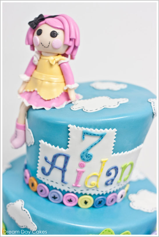 Brilliant Lalaloopsy Birthday Cake The Cake Blog Personalised Birthday Cards Rectzonderlifede