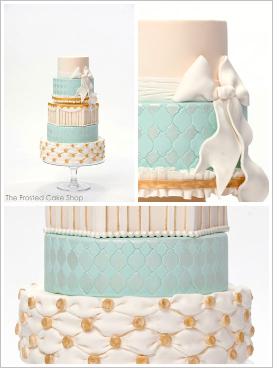 Marie Antoinette inspired cake by Frosted Cake Shop  | TheCakeBlog.com