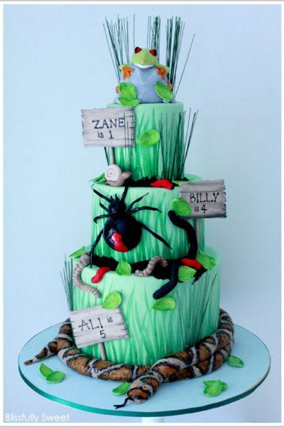 Realistic Reptile Cake