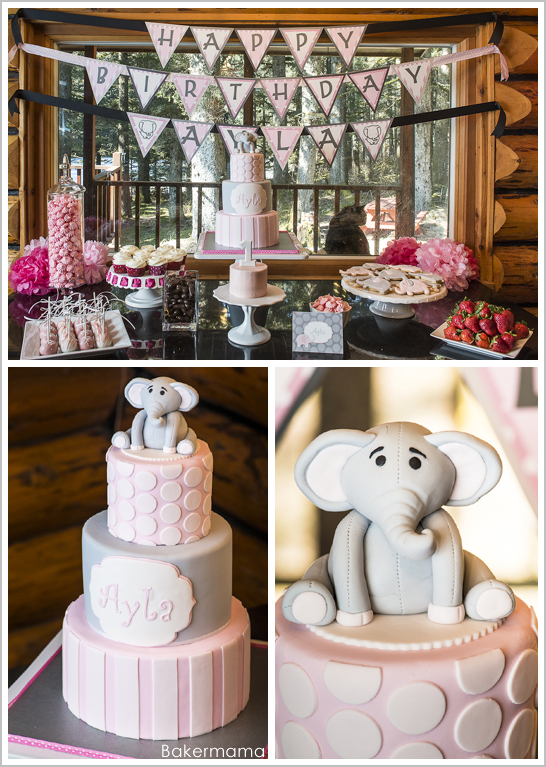 Elephant Birthday by Bakermama | TheCakeBlog.com