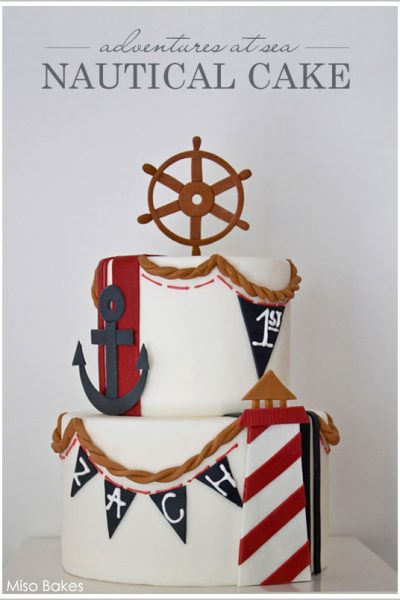 Beach Week : Nautical Cake & DIY