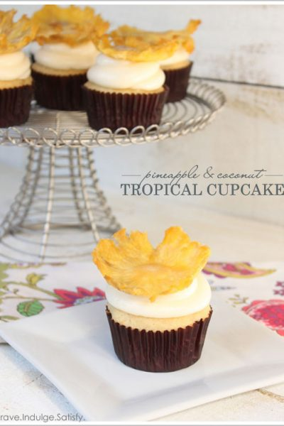 Recipe : Tropical Pineapple Cupcakes