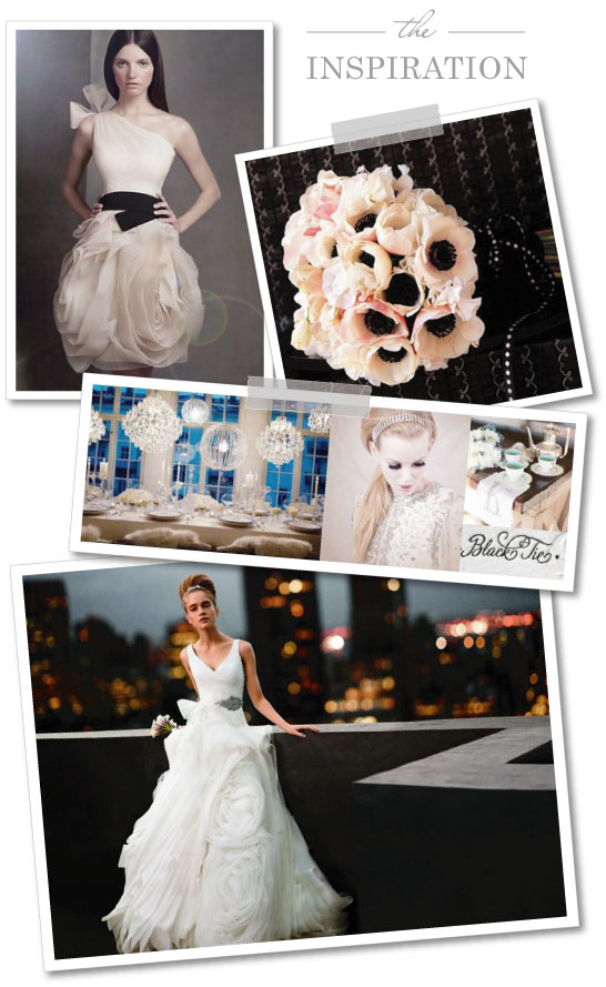 Vera Wang Dress Inspiration  |  TheCakeBlog.com