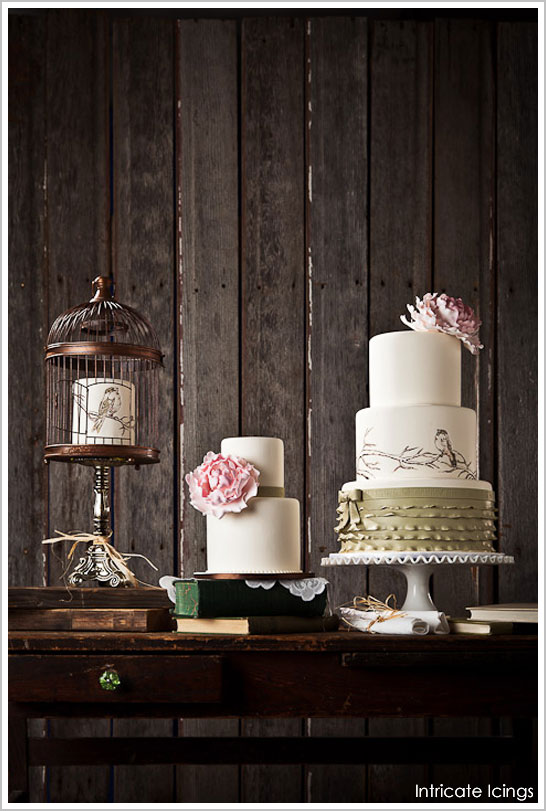 Vintage Bird Cage Cake by Intricate Icings  |  TheCakeBlog.com