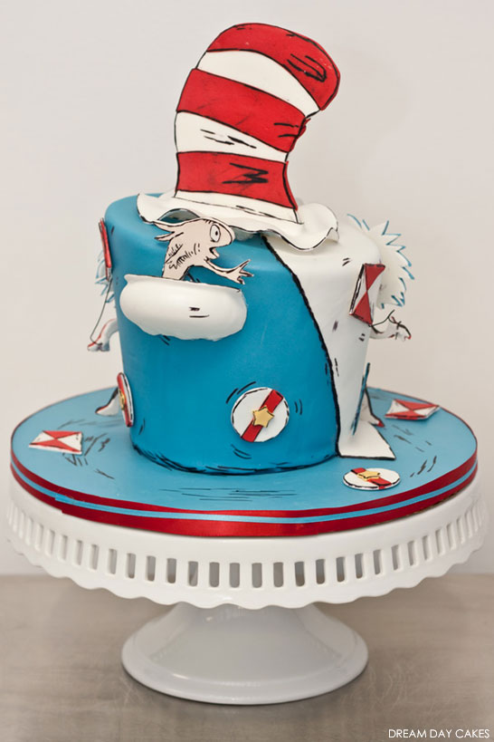Dr Seuss Cake | by Dream Day Cakes