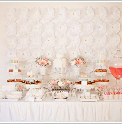 Angel Wings Dessert Table
