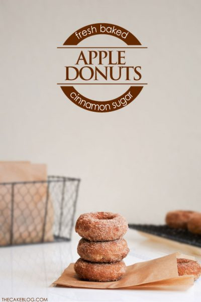 Recipe : Baked Apple Donuts