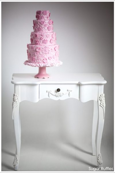 From Dress to Cake :: Pink Frills