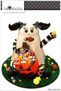 Classic Halloween Candy Cake by Pink Cake Box  |  TheCakeBlog.com