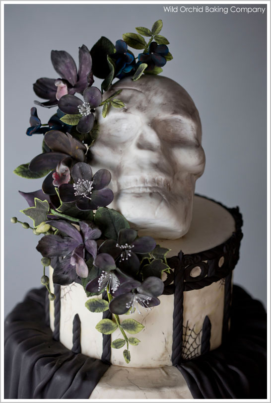 Terrific Halloween Week Vintage Goth The Cake Blog Funny Birthday Cards Online Inifofree Goldxyz