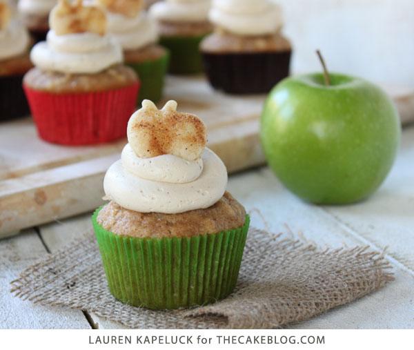 Apple Pie Cupcakes The Cake Blog