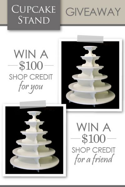 Giveaway : Cupcake Stands