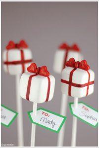 Pretty Present Cake Pops by Bakerella  |  TheCakeBlog.com