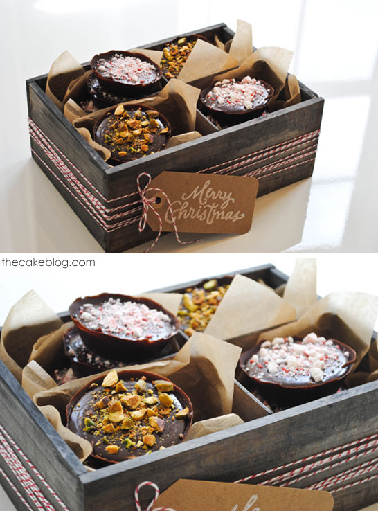 No Bake Chocolate Truffle Tarts  | perfect for holiday gift giving