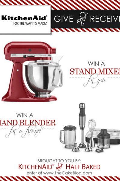 GIVEAWAY : KitchenAid Stand Mixer & Hand Blender