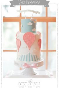 Hot Air Balloon Cake by Jessica Harris  |  TheCakeBlog.com