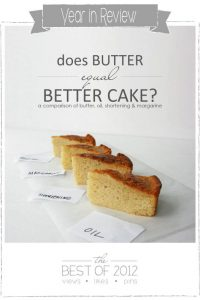 Is Butter Better : Baking Experiment by Summer Stone