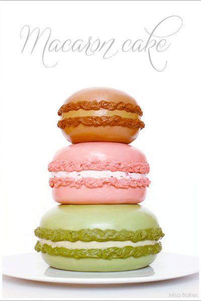 DIY: Macaron Cake
