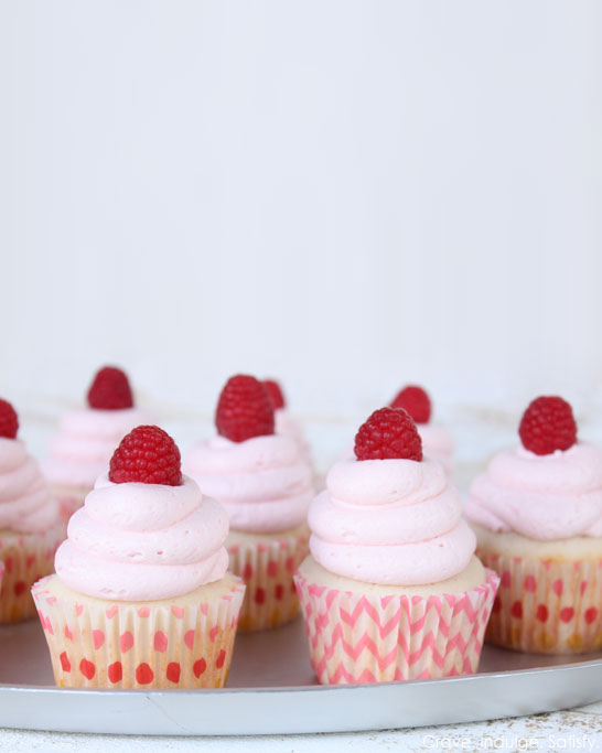 Raspberry and Champagne Cupcakes - The Cake Blog