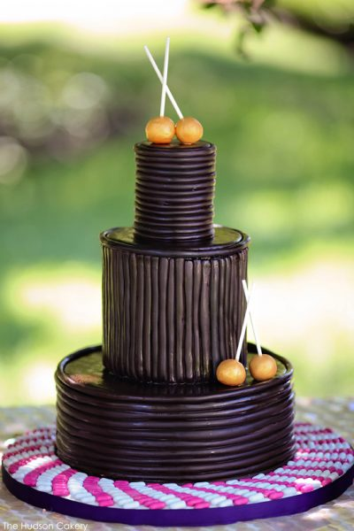 Chocolate Wrapped Cake