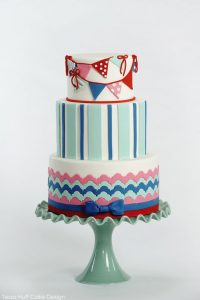 Preppy Nautical Cake
