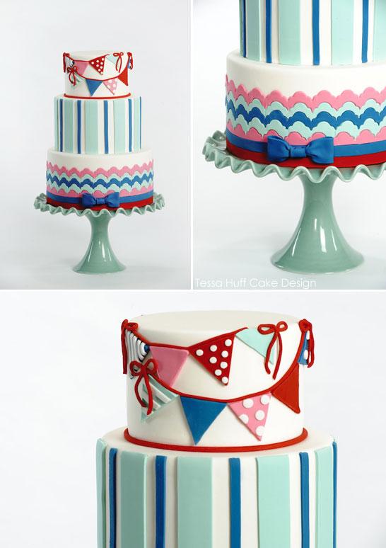 Nautical Cake by Tessa Huff | TheCakeBlog.com
