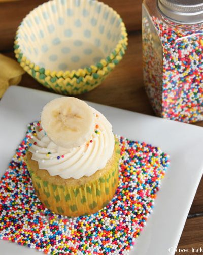 Recipe: Banana & Cream Cheese Cupcakes