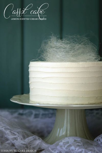 Recipe: Carrot Cake with Spun Sugar Nest