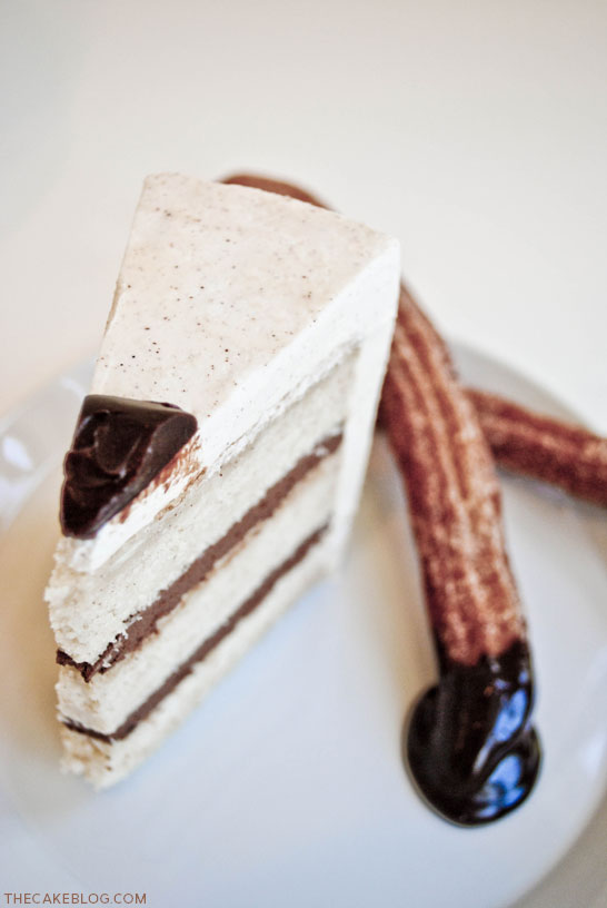 Chocolate & Churros Cake | TheCakeBlog.com