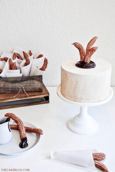 Spiced Chocolate & Churros Cake