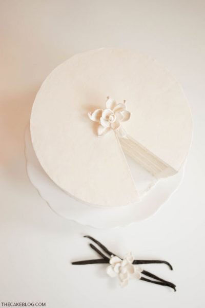 Recipe : Classic Vanilla Cake