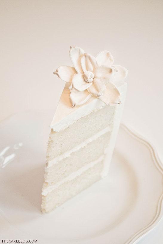 Classic Vanilla Cake Recipe | TheCakeBlog.com