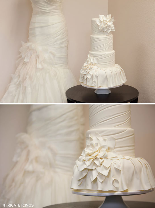 Fashion Inspired Cake by Intricate Icings  |  TheCakeBlog.com